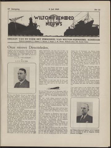 Wilton Fijenoord Nieuws 1949-07-01