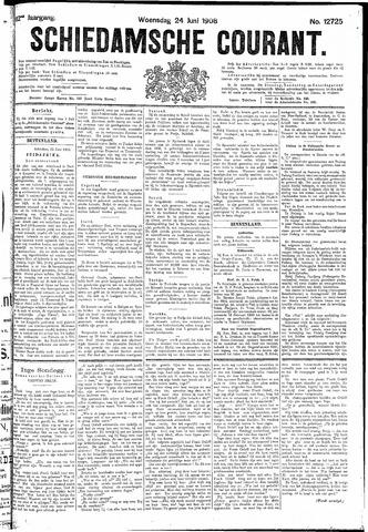 Schiedamsche Courant 1908-06-24