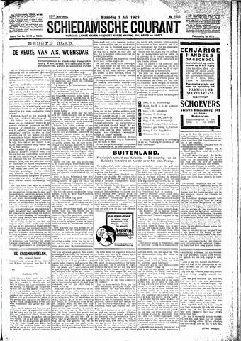 Schiedamsche Courant 1929-07-01