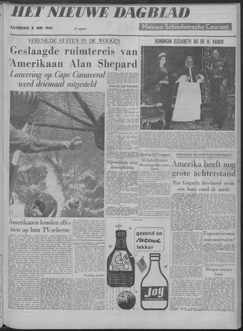 Nieuwe Schiedamsche Courant 1961-05-06