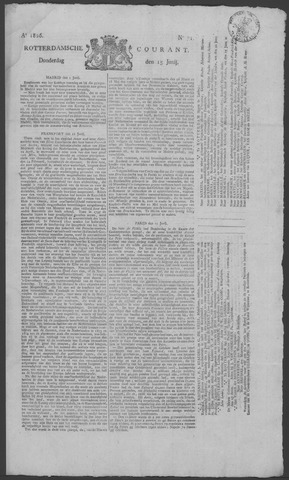 Rotterdamse Courant 1826-06-15
