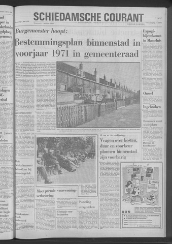 Rotterdamsch Nieuwsblad / Schiedamsche Courant / Rotterdams Dagblad / Waterweg / Algemeen Dagblad 1970-06-03