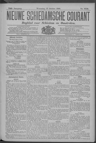 Nieuwe Schiedamsche Courant 1909-10-27