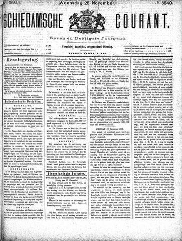 Schiedamsche Courant 1883-11-28