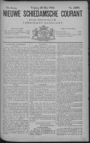 Nieuwe Schiedamsche Courant 1892-05-20