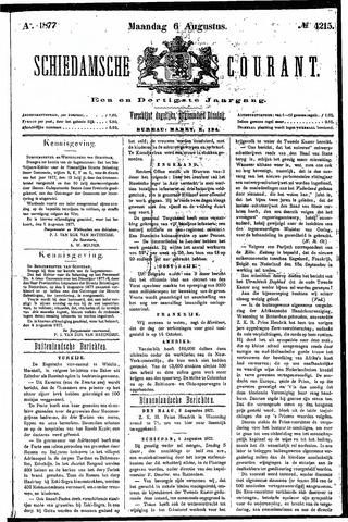 Schiedamsche Courant 1877-08-06
