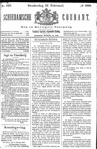 Schiedamsche Courant 1877-02-22