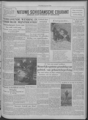 Nieuwe Schiedamsche Courant 1958-01-22