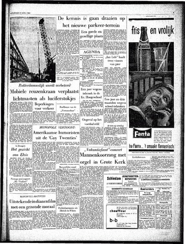 Rotterdamsch Parool / De Schiedammer 1962-08-11