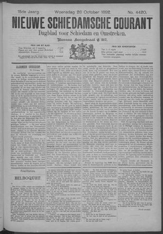 Nieuwe Schiedamsche Courant 1892-10-26