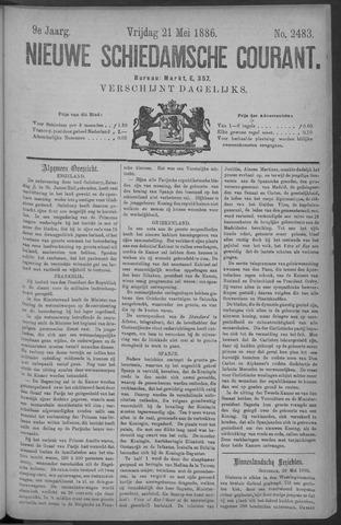 Nieuwe Schiedamsche Courant 1886-05-21