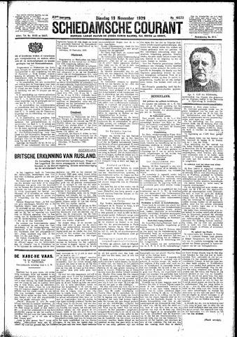 Schiedamsche Courant 1929-11-19