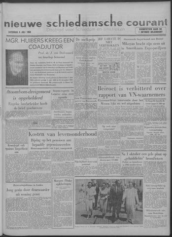 Nieuwe Schiedamsche Courant 1958-07-05