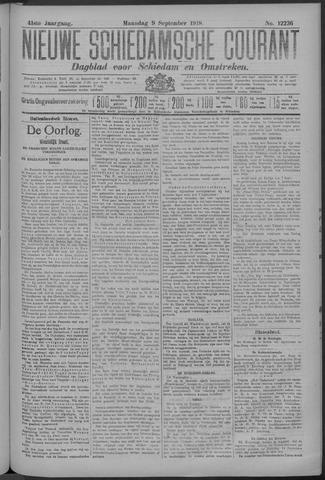 Nieuwe Schiedamsche Courant 1918-09-09