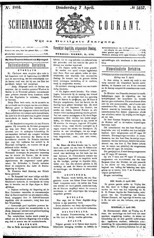 Schiedamsche Courant 1881-04-07