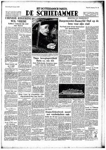Rotterdamsch Parool / De Schiedammer 1949-01-20