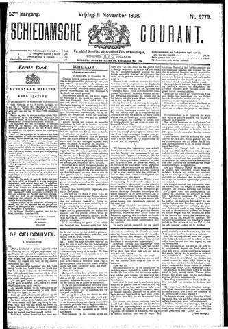 Schiedamsche Courant 1898-11-11