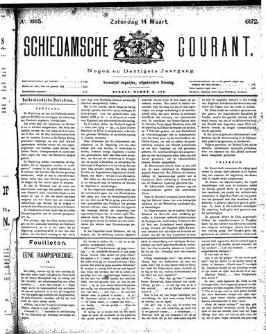 Schiedamsche Courant 1885-03-14