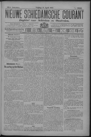 Nieuwe Schiedamsche Courant 1913-04-11