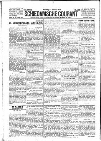 Schiedamsche Courant 1931-01-06