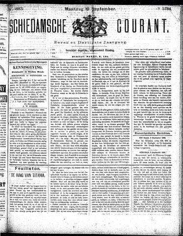 Schiedamsche Courant 1883-09-10