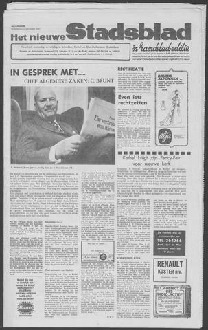 Het Nieuwe Stadsblad 1970-09-02
