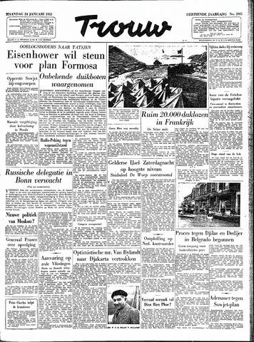 Trouw / De Rotterdammer 1955-01-24