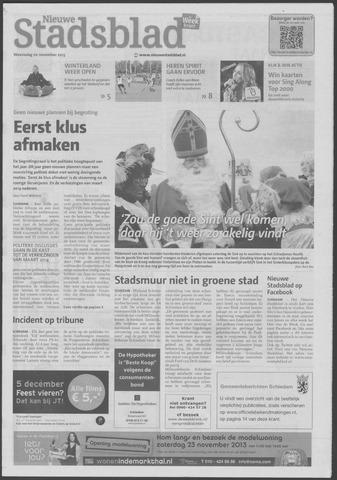 Het Nieuwe Stadsblad 2013-11-20