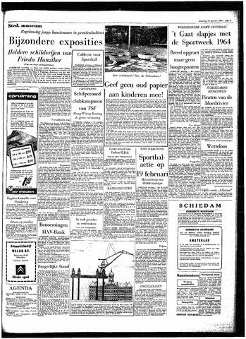 Rotterdamsch Parool / De Schiedammer 1964-01-18