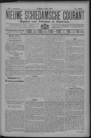 Nieuwe Schiedamsche Courant 1913-05-09