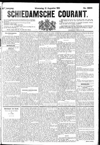 Schiedamsche Courant 1912-08-21