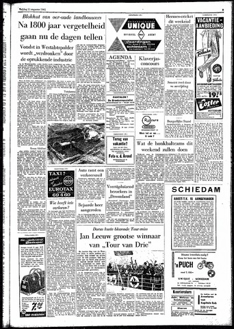 Rotterdamsch Parool / De Schiedammer 1961-08-11