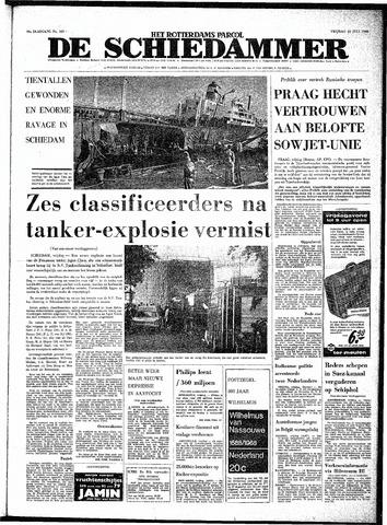 Rotterdamsch Parool / De Schiedammer 1968-07-12