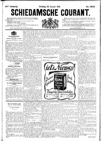 Schiedamsche Courant 1912-01-30
