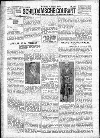 Schiedamsche Courant 1933-10-04
