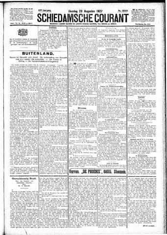 Schiedamsche Courant 1927-08-23
