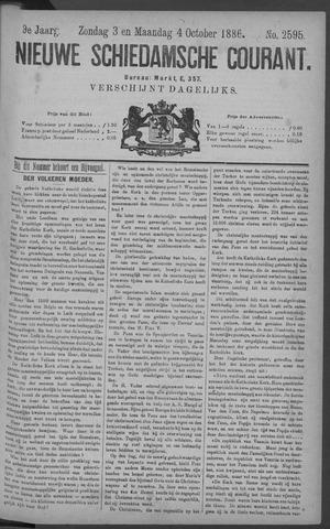 Nieuwe Schiedamsche Courant 1886-10-04