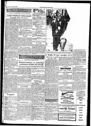 Rotterdamsch Nieuwsblad / Schiedamsche Courant / Rotterdams Dagblad / Waterweg / Algemeen Dagblad 1954