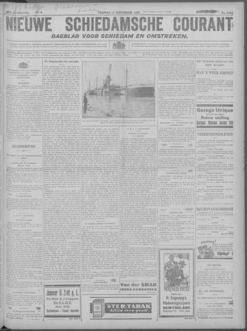 Nieuwe Schiedamsche Courant 1929-11-08