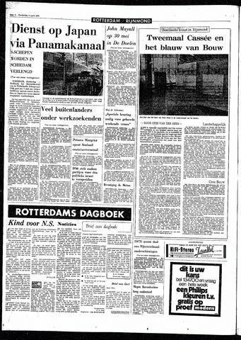 Rotterdamsch Parool / De Schiedammer 1970-04-09