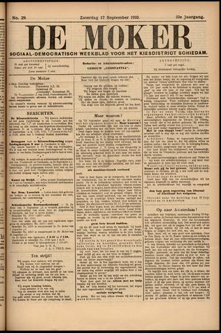 De Moker 1910-09-17