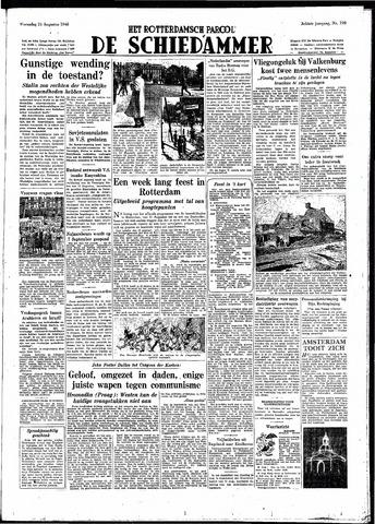 Rotterdamsch Parool / De Schiedammer 1948-08-25