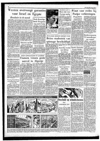 Rotterdamsch Parool / De Schiedammer 1957-01-28