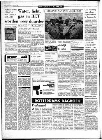 Rotterdamsch Parool / De Schiedammer 1970-09-17