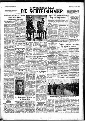 Rotterdamsch Parool / De Schiedammer 1948-11-10