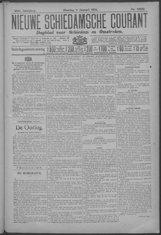 Nieuwe Schiedamsche Courant 1918-01-08