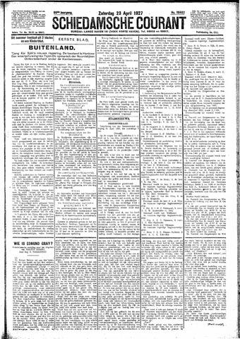 Schiedamsche Courant 1927-04-23