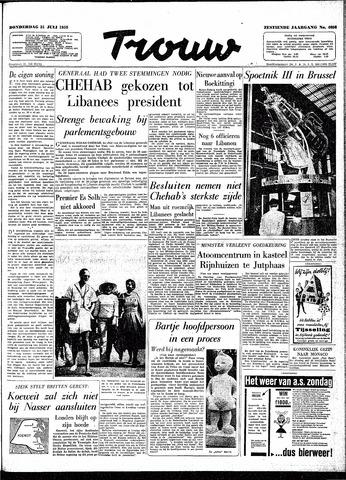 Trouw / De Rotterdammer 1958-07-31