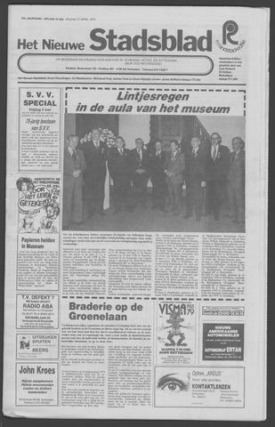 Het Nieuwe Stadsblad 1979-04-27