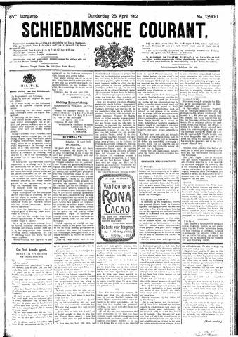 Schiedamsche Courant 1912-04-25